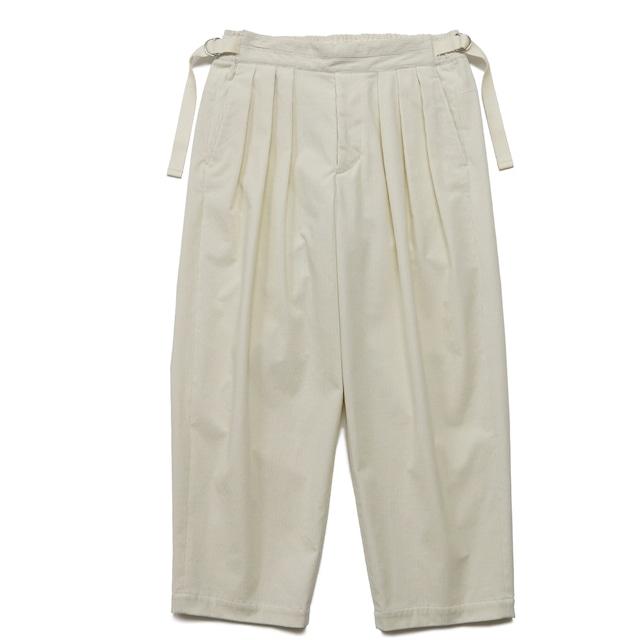 【SAYATOMO】Hakama Akane Corduroy Pants