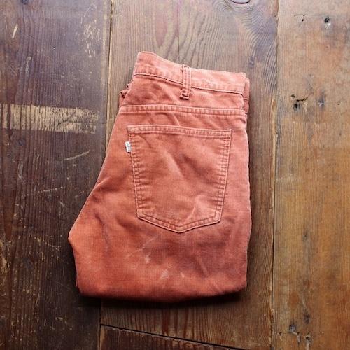 1980s Levi's 519 - 1587 Corduroy Pants / リーバイス コーデュロイパンツ レアカラー