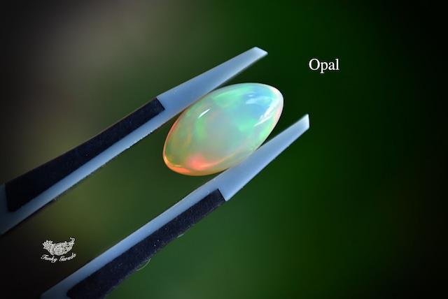 魔法の彩り★虹プリズム強★エチオピアオパール ルース opal017