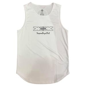 【YBC】Big Silhouette Singlet White
