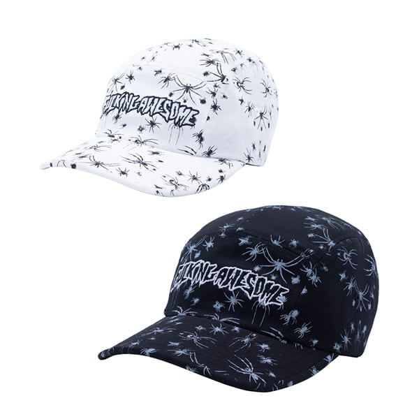 Fucking Awesome Spider Stamp Volley Strapback