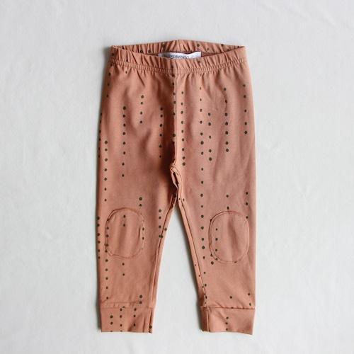 《MINGO. 2021AW》Legging / Dewdrops Chocolate Milk