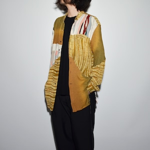 "Crazy Pattern ""NIPPON SILK"" Shirt Coat 〈B〉"