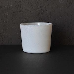 小宮 崇 白のうつわ フリーカップ(012)