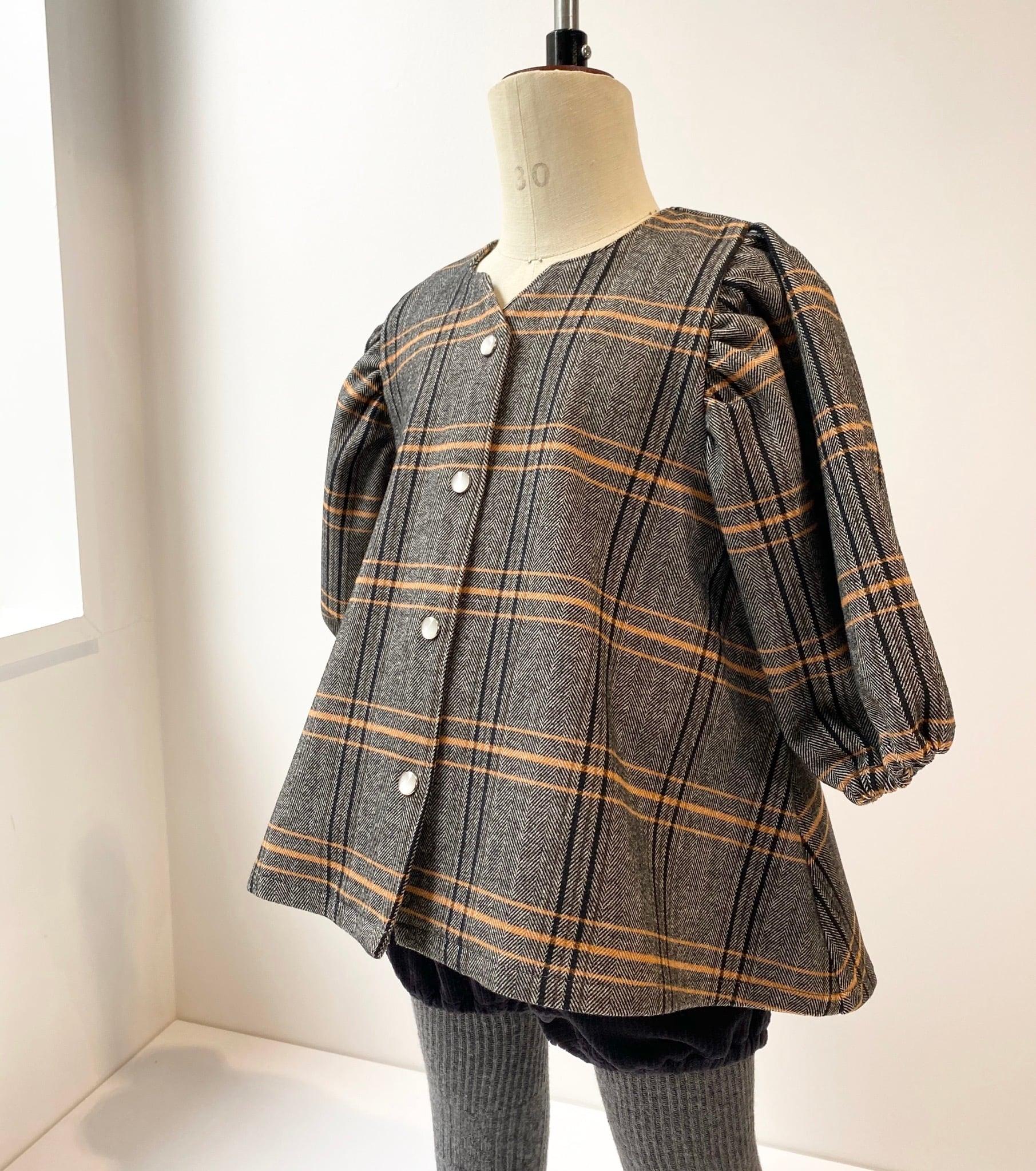 【ベビー服,セットアップ】フレアチュニックとブルマ / イエロー / 80~100サイズ