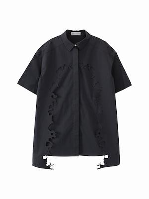 Layered shirt / navy / S15SH01