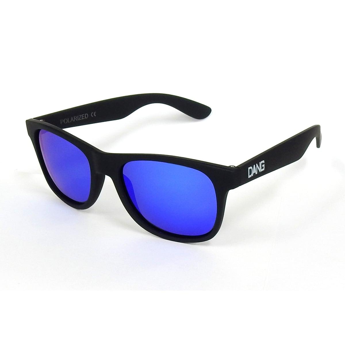 DANG SHADES  Black Soft x Blue Mirror Polarized・vidg00240(偏光レンズ)