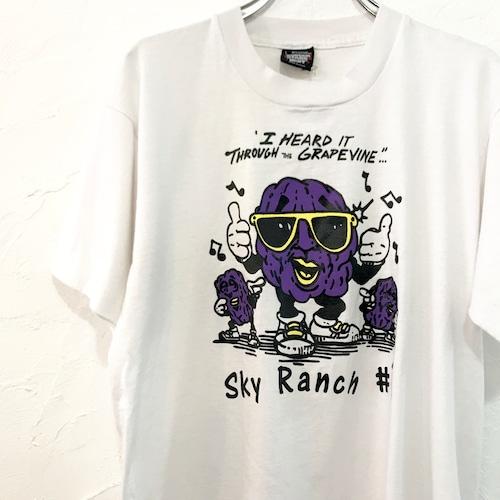 【USED】カリフォルニアレーズンズ プリント 半袖 Tシャツ