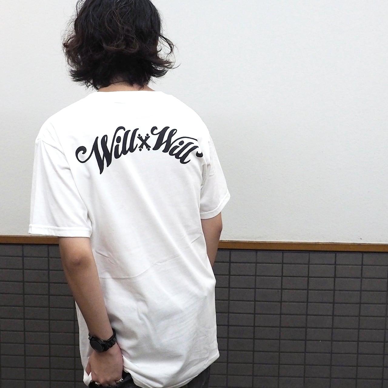 WillxWill Arch Logo T-shirts White