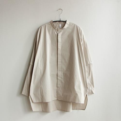 《MOUNTEN. 2021AW》detachable shirts / greige / size1(155-165cm程度)