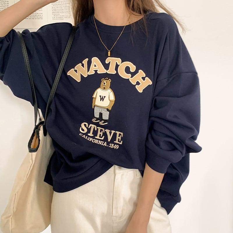 ベアースウェットシャツ YH6571