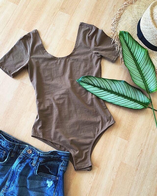 Half sleeve Bodysuit