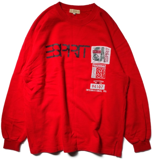 90年代 エスプリ スウェット 【L】  ESPRIT ヴィンテージ 古着