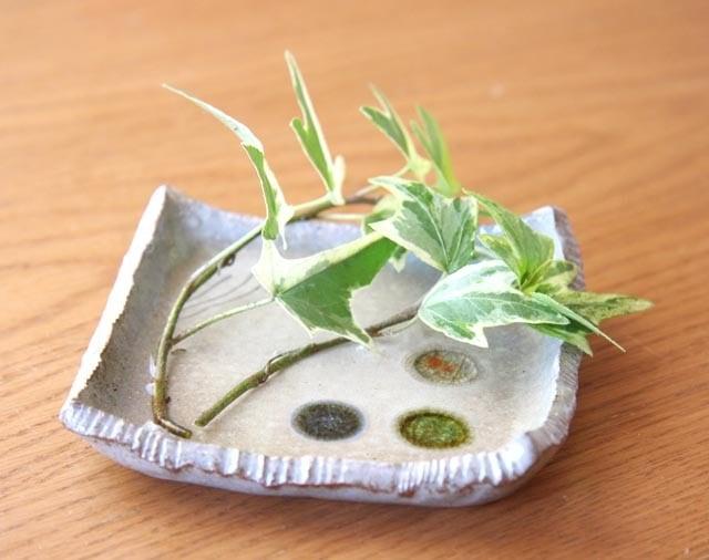 アートギャラリー芳凜★琉球ガラス玉小皿