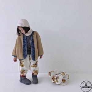 «即納» go.u mokomoko bear pants 2colors くまのパンツ