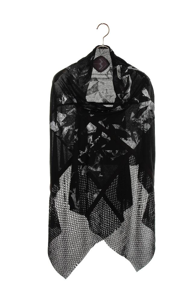 [受注生産][着るアートストール]ANGEL エンジェル MIYABI シルバー 101720【COTTONコットン】[送料/税込]