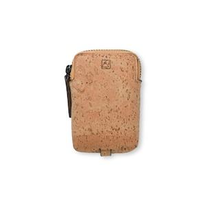VEGAN MINI KEY CASE - NATURAL / キーケース ナチュラルカラー コルク製