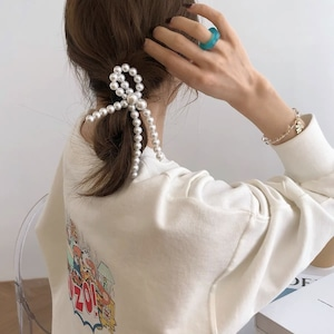pearl ornament rubber