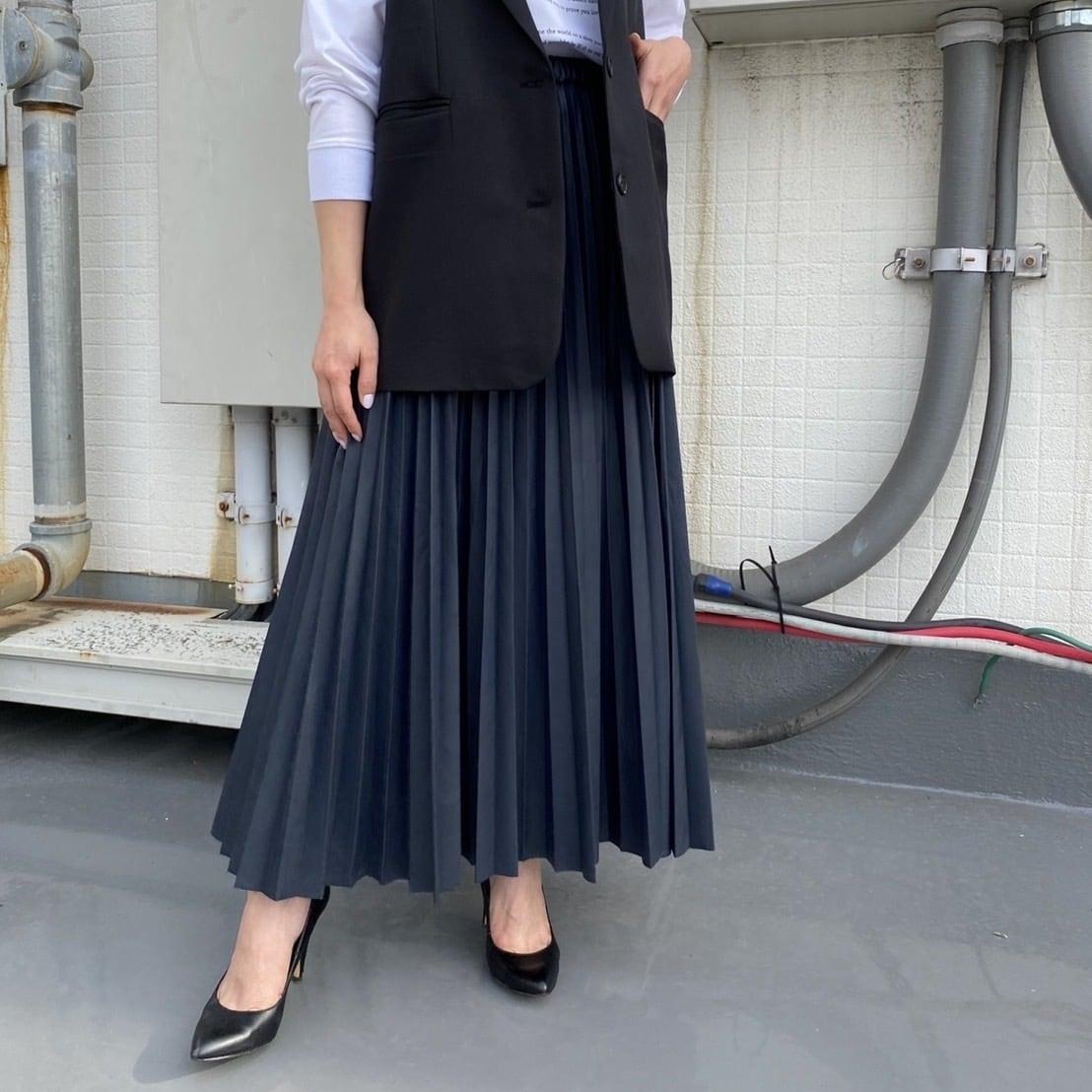 【 ROSIEE 】- R253210 - レザープリーツスカート
