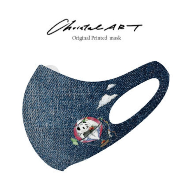 ◆受注生産◆オリジナルプリントマスク◆ワンポイントデザインプリント