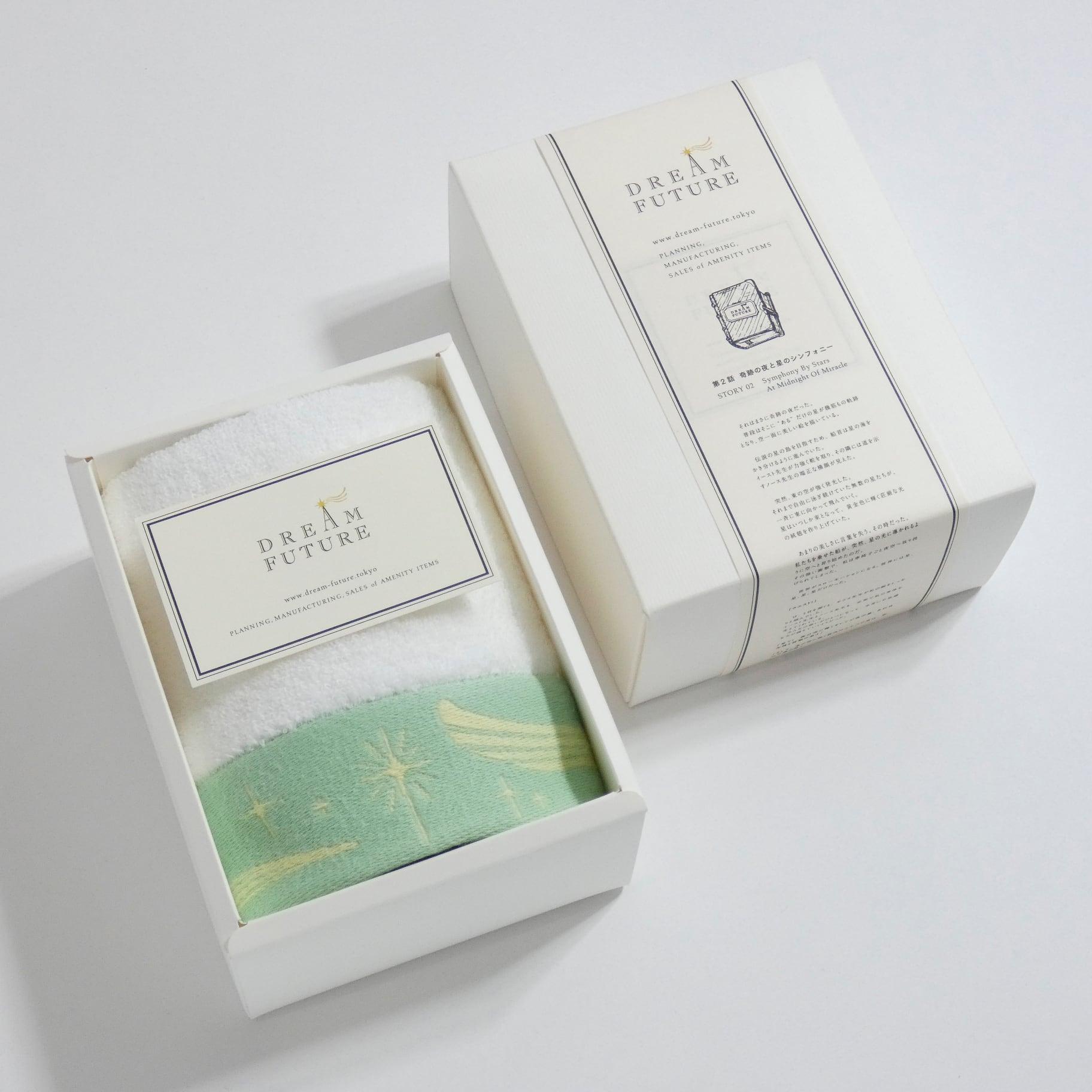 無撚糸(むねんし)高級Hand Towel 1枚SET GREEN