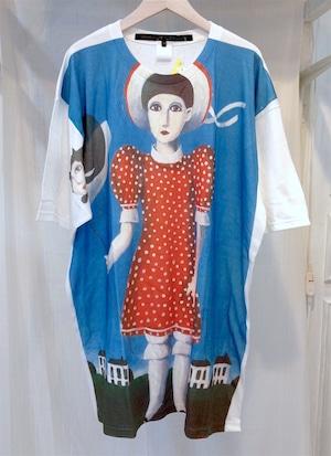 あちゃちゅむ 少女Tシャツ