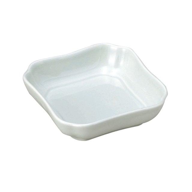 花四角小鉢(11cm) 可愛いカタチの深小皿 ノアアクア【2050-6220】