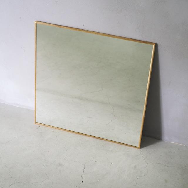 Odier Brass Mirror Square