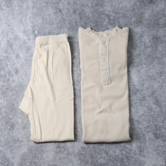 U.S.Army【Set up】Wool Thermal ミリタリー サーマル コットンウールセットアップ Small XSmall dead stock デッドストック ヴィンテージ 古着 A551