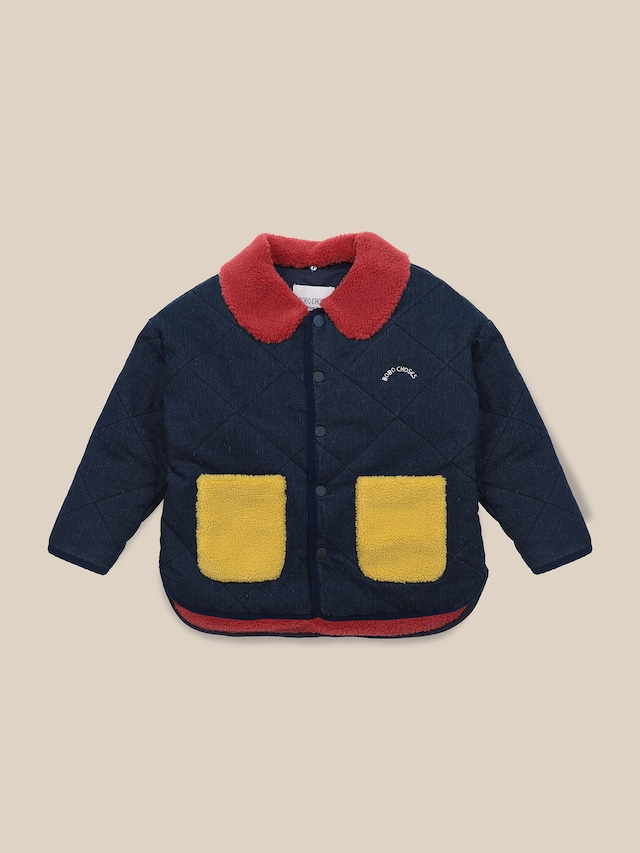 bobochoses multicolor quilted jacket アウター