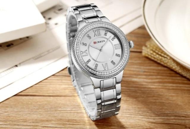 CURREN LT-C9004(silver) レディース腕時計