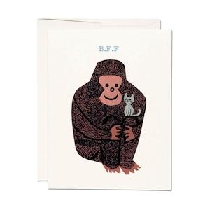 """グリーティグカード「ココ オッドボール」 Greeting Card """"KOKO ODDBALL"""""""