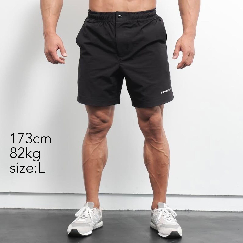 travelight stretch short pants (BLACK)