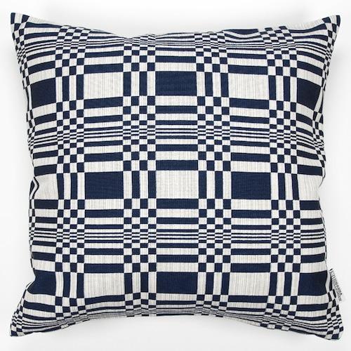 JOHANNA GULLICHSEN(ヨハンナ グリクセン) Zipped Cushion Cover Doris(ドリス) Dark Blue