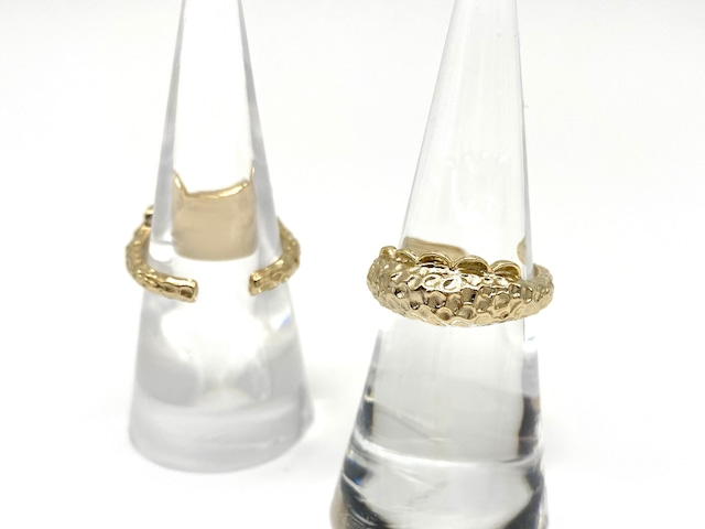 Sirène ring ー gold x back open ー