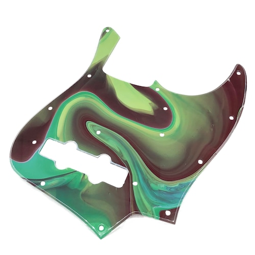 VARIOUS MARBLEIZED PICK GUARD SERIES - 60s J-type  Only One Design - ベース用マーブルピックガード ja4-1