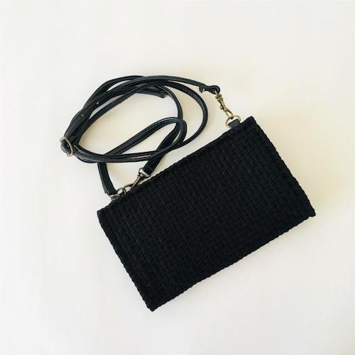 ★数量限定販売★ Rags2Riches ミニトラベルポーチ ブラックカラー【CLARENCE TRAVEL SLING BAG】