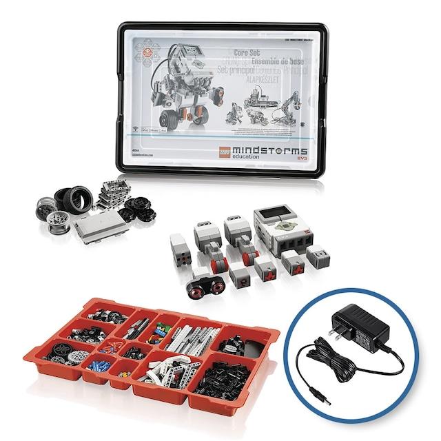 教育版レゴⓇ マインドストームⓇ EV3 基本セット&DC(充電)アダプターパッケージ