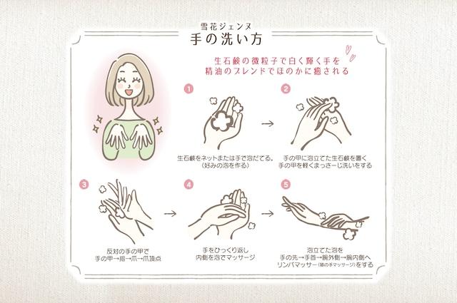 雪花ジェンヌ 生せっけんローズ[2個セット]