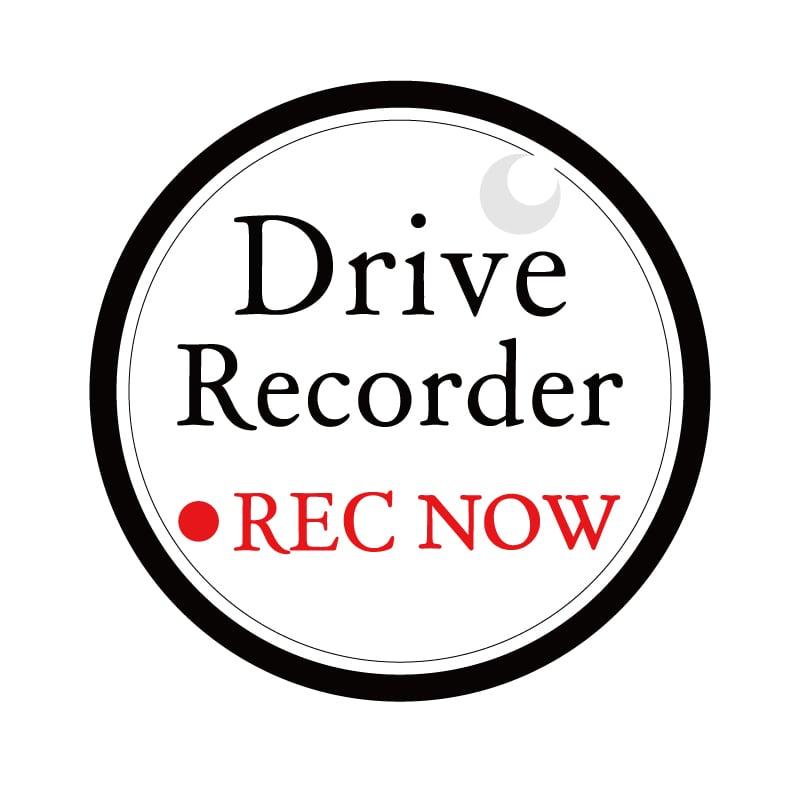 NEW!ドライブレコーダー ステッカーマグネット式  反射タイプ