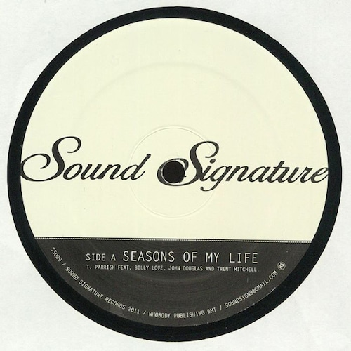 """【12""""】Theo Parrish With Rotating Assembly - Seasons Of My Life / Feedback"""
