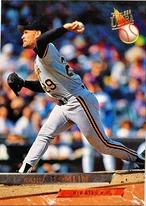 MLBカード 93FLEER Randy Tomlin #102 PIRATES