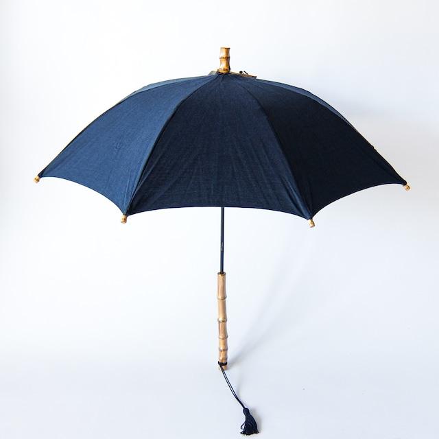 傳 tutaee - ツタエノヒガサ きつねのたすき - 長日傘 - 武州藍