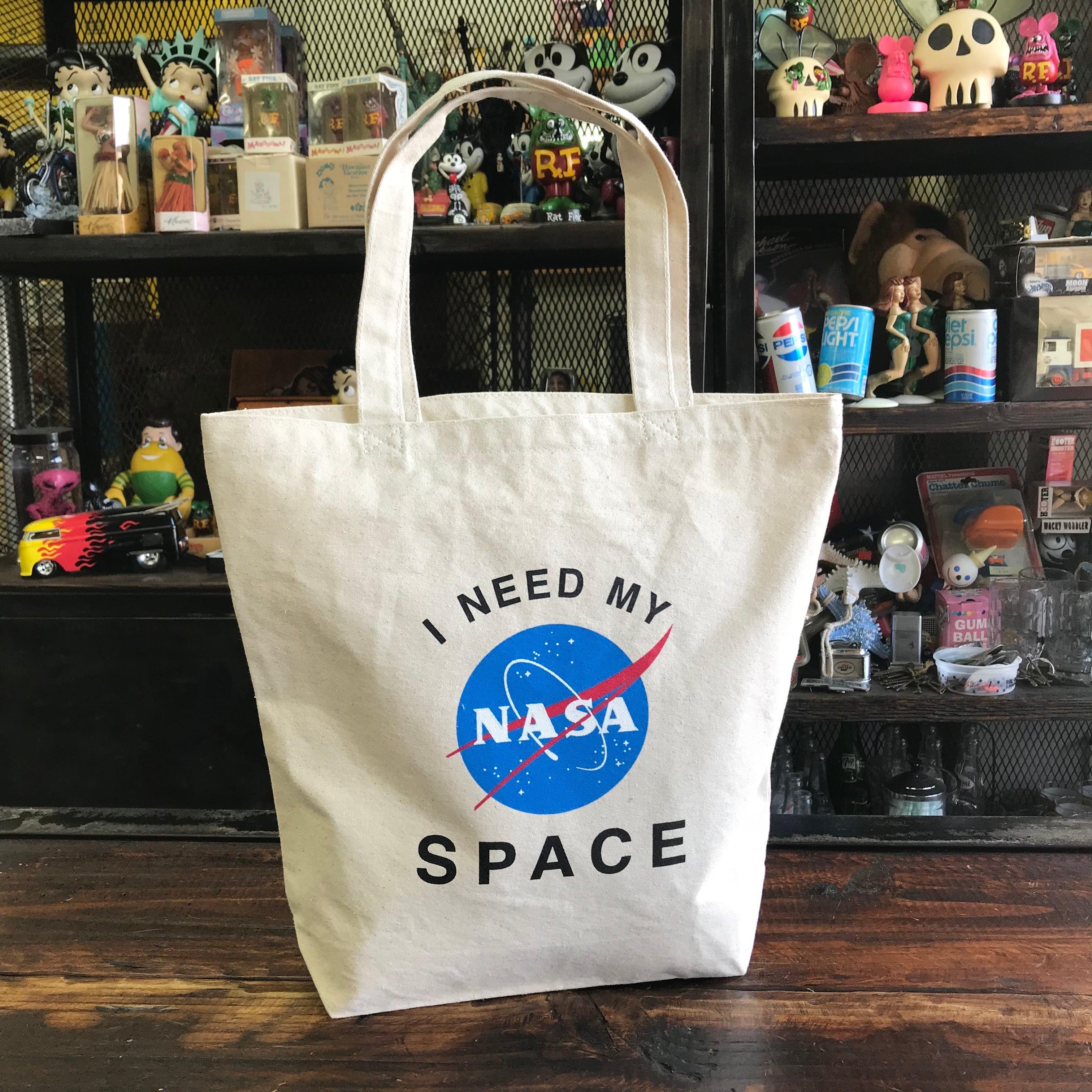 NASA公認トートバッグ・インサイニア(ミートボール)・ナチュラル