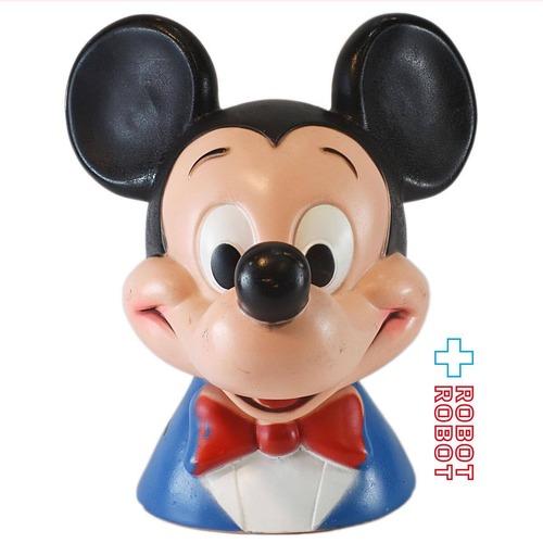 プレイパル ミッキーマウス ヘッドソフビ貯金箱