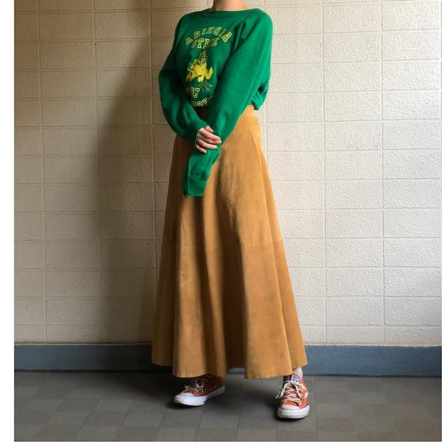 Suède long skirt