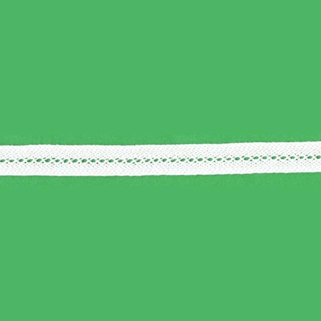 ブレード(綿100%/白/1.1cm幅/通常用) 5メートル【YBL-BRD-02-5m】