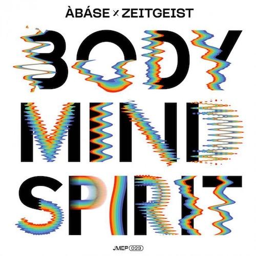 """【再入荷/12""""】Àbáse & Ziggy Zeitgeist - Body Mind Spirit EP"""