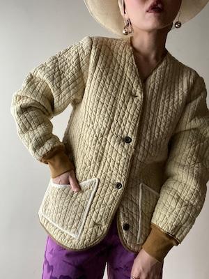 Vintage 60s Slovakian Quilt Jacket①