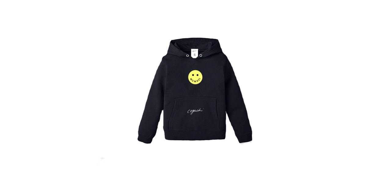 coguchi smile kids hoodie (NVY)